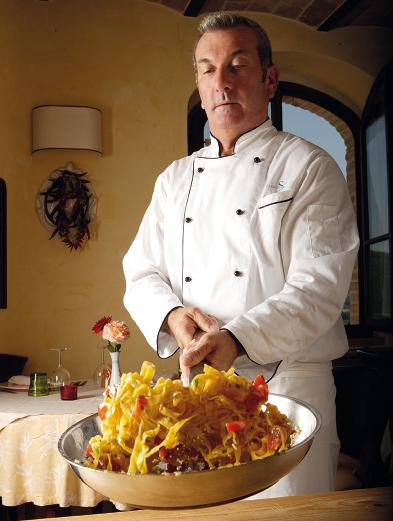Graziano Savignani, chef di Villa Valentina e della Trattoria Ristornate Al Casello di Pesaro